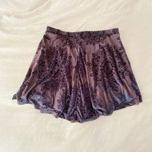 Pacsun LA Hearts Collection Satin Skirt